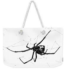 Western Black Widow Weekender Tote Bag