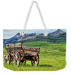 Western Exposure Weekender Tote Bag