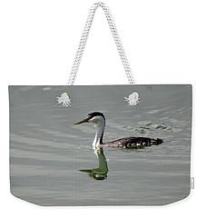 Western Grebe Weekender Tote Bag