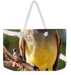 Western Kingbird Weekender Tote Bag