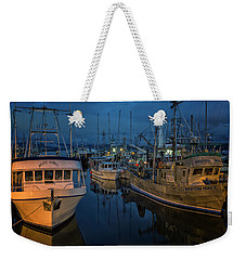 Weekender Tote Bag featuring the photograph Western Prince by Randy Hall