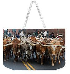 Western Stock Show Weekender Tote Bag