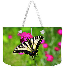 Western Tiger Swallowtail Butterfly Weekender Tote Bag