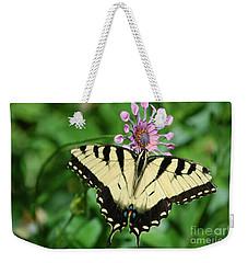 Western Tiger Swallowtail Weekender Tote Bag