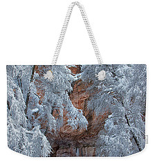 Weekender Tote Bag featuring the photograph Westfork Charms Me by Tom Kelly