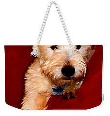 Westie Boy Weekender Tote Bag