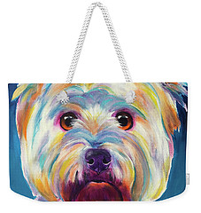 Westie - Chispy Weekender Tote Bag