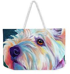 Westie - Chispy Profile Weekender Tote Bag