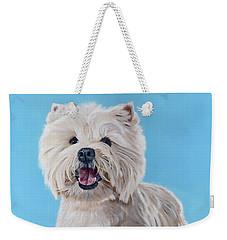 Westie Weekender Tote Bag