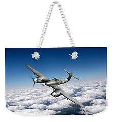 Weekender Tote Bag featuring the photograph Westland Whirlwind Portrait by Gary Eason