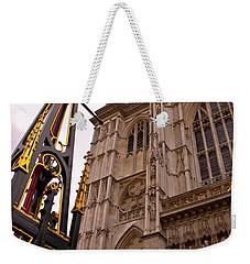 Westminster Abbey London England Weekender Tote Bag by Jon Berghoff