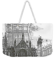 Westminster In London Weekender Tote Bag