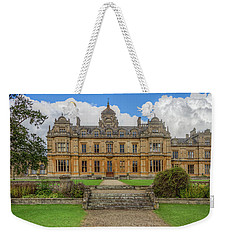 Weekender Tote Bag featuring the photograph Westonbirt School For Girls by Clare Bambers
