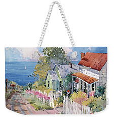 Westport By The Sea Weekender Tote Bag