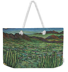 Westward Weekender Tote Bag by Johnathan Harris