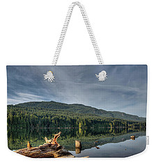 Weekender Tote Bag featuring the photograph Westwood Lake by Randy Hall