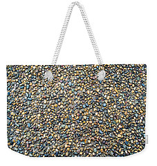 Wet Beach Stones Weekender Tote Bag