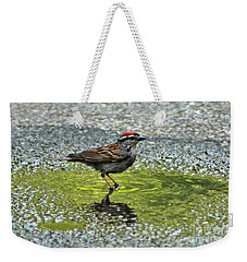 Wet Feathers Weekender Tote Bag