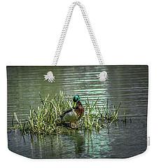 Wet Green #g2 Weekender Tote Bag