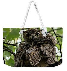Wet Owl Weekender Tote Bag