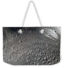 Wet Steel Weekender Tote Bag