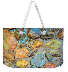 Wet Stones Weekender Tote Bag