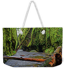 Wet Trail Weekender Tote Bag by Jonathan Davison