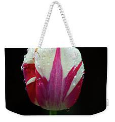 Wet Tulilp Weekender Tote Bag