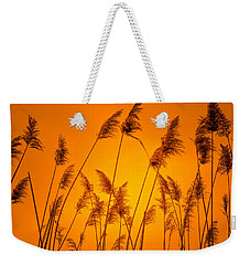 Wetland Sunset Weekender Tote Bag by Bruce Pritchett