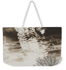 Wetlands Meet Chemtrails Weekender Tote Bag