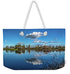 Wetlands Panorama  Weekender Tote Bag