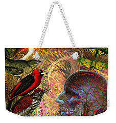 We've Notice A Change In You Weekender Tote Bag by Joseph Mosley