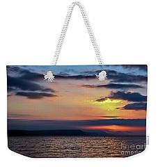 Weymouth Esplanade Sunrise Weekender Tote Bag