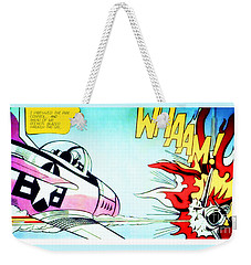 Whaam Weekender Tote Bag by Roy Lichtenstein