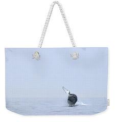 Whale Weekender Tote Bag