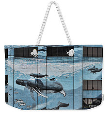 Whale Deco Building  Weekender Tote Bag