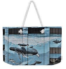 Whale Deco Building  Weekender Tote Bag