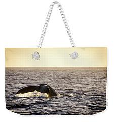 Whale Fluke Weekender Tote Bag