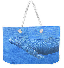 Whale In Surface Light Weekender Tote Bag