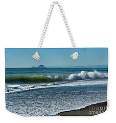 Weekender Tote Bag featuring the photograph Whale Island by Werner Padarin
