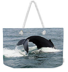 Whale Of A Tail Weekender Tote Bag