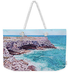 Whale Point Cliffs Weekender Tote Bag