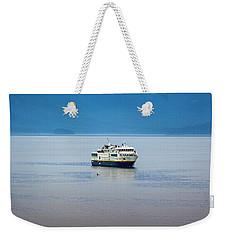 Whale Watching In Glacier Bay Weekender Tote Bag