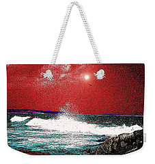 Whaleback At Peaks Island Maine Weekender Tote Bag