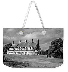 Weekender Tote Bag featuring the photograph Whalehead Club by David Sutton