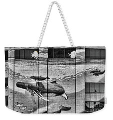 Whales Mural Building Penn Weekender Tote Bag