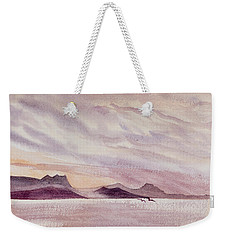 Whangarei Heads At Sunrise, New Zealand Weekender Tote Bag