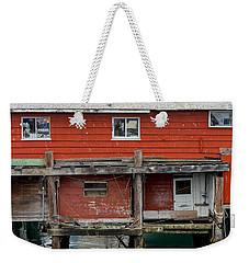 Wharf Shack Weekender Tote Bag by Derek Dean
