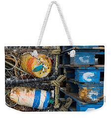 Wharf Stuff Weekender Tote Bag by Derek Dean