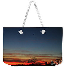 What A Beautiful Day Weekender Tote Bag